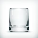 Leeres Glas stock abbildung