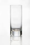 Leeres Glas auf weißem Hintergrund Lizenzfreie Stockbilder