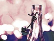 Leeres Glassbottles Stockfotografie