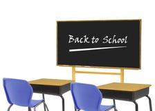 Leeres Klassenzimmer Stockfoto