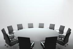 Leeres Konferenzzimmer und Konferenz Lizenzfreie Stockbilder