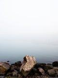 Leeres Meer, vertikal Lizenzfreies Stockfoto