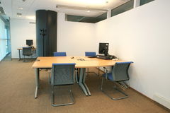 Leeres modernes Büro Stockfotos
