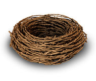 Leeres Nest Stockbild
