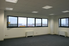 Leeres neues Büro Stockbild