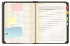 Leeres Notizbuch Stockbilder