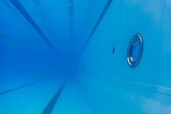 Leeres olympisches Pool Stockfotografie