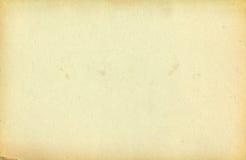 Leeres Papier Stockbild