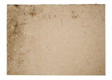 Leeres Pappzeichen Stockfoto