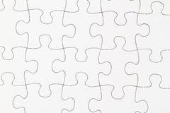 Leeres Puzzlespiel im Detail Lizenzfreies Stockbild