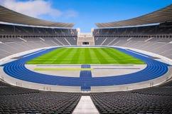 Leeres Stadion Stockfotografie