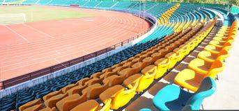 Leeres Stadion stockbild