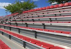 Leeres Stadion Seat Stockfoto