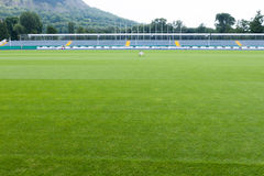 Leeres Stadion und sportsfield Lizenzfreies Stockbild