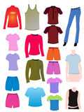 Leeres T-Shirt Stockfotos