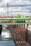 Leeres Volumen für Abwasserwasser Lizenzfreie Stockfotos
