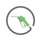 Leeres Warnlicht des Kraftstofftanks lizenzfreie abbildung
