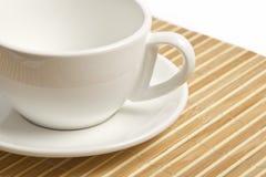Leeres weißes Cup Lizenzfreie Stockbilder