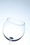 Leeres Weinglas Lizenzfreies Stockfoto