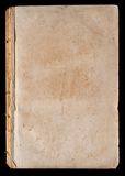 Leerseite des sehr alten Buches Stockfoto