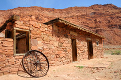 Lees Ferry Historic Building. Glen Canyon National Recreation Area stock photo