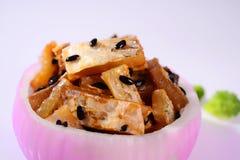 Lees fish-Onion bowl Royalty Free Stock Image