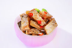 Lees fish-Onion bowl. Wine lees is a tract of Poyang Lake, Jiangxi Province in the vicinity of the Han nationality traditional cuisines, about half a catty of Stock Images