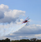 Leesburg Airshow luftburen nivå Arkivfoto