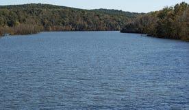 Leesville sjö, Virginia, USA arkivfoto
