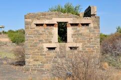 Leeu-Gamkablockhaus Stockbild