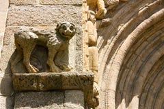 Leeuw. detail van Kathedraal. Royalty-vrije Stock Foto