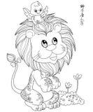 Leeuw of Leeuw Twaalf Dierenriem Royalty-vrije Stock Afbeeldingen
