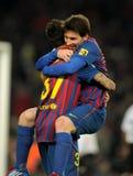 Leeuw Messi van FC Barcelona Royalty-vrije Stock Afbeeldingen