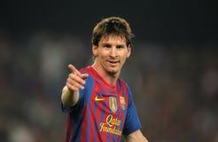 Leeuw Messi van FC Barcelona Royalty-vrije Stock Fotografie