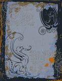 Leeuw met vleugels Royalty-vrije Stock Afbeelding