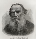 Leeuw Tolstoy Stock Foto