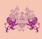 leeuw twee Royalty-vrije Stock Afbeeldingen