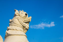 Leeuw van de Singha de Thaise stijl Stock Afbeeldingen