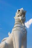 Leeuw van de Singha de Thaise stijl Royalty-vrije Stock Afbeeldingen