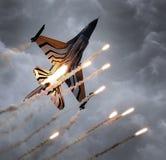 LEEUWARDEN, НИДЕРЛАНДСКИЙ 10-ОЕ ИЮНЯ 2016: Бельгия - военновоздушная сила g Стоковое Изображение
