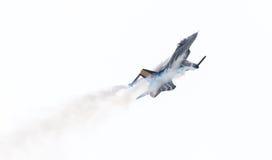 LEEUWARDEN, НИДЕРЛАНДСКИЙ 10-ОЕ ИЮНЯ 2016: Бельгия - военновоздушная сила g Стоковое Изображение RF