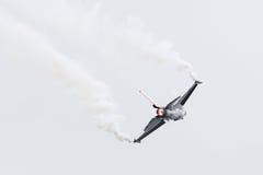 LEEUWARDEN, НИДЕРЛАНДСКИЙ 10-ОЕ ИЮНЯ 2016: Бельгия - военновоздушная сила g Стоковое Фото