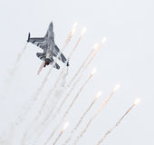 LEEUWARDEN, НИДЕРЛАНДСКИЙ 10-ОЕ ИЮНЯ 2016: Бельгия - военновоздушная сила g Стоковые Изображения RF