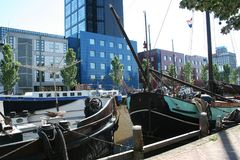 Leeuwarden-achmea Turm Stockfoto