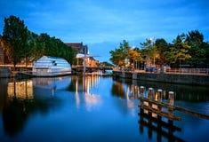 Leeuwarden die Niederlande Stockfotos