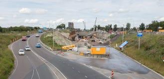 LEEUWARDEN, DIE NIEDERLANDE, 11 juli 2017; Das contruction von a Stockfoto