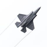 LEEUWARDEN, DIE NIEDERLANDE - 10. JUNI 2016: F-35 Blitz II f Lizenzfreie Stockfotos