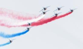 LEEUWARDEN, DIE NIEDERLANDE 11. JUNI 2016: Piloten von Patrouille Lizenzfreie Stockbilder