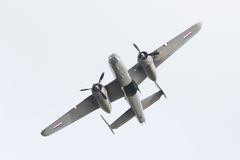 LEEUWARDEN holandie - CZERWIEC 10: WW2 B-25 Mitchell bombowiec Zdjęcie Royalty Free