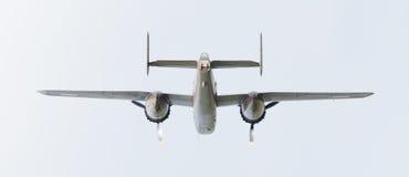 LEEUWARDEN holandie - CZERWIEC 10: WW2 B-25 Mitchell bombowiec Obraz Stock